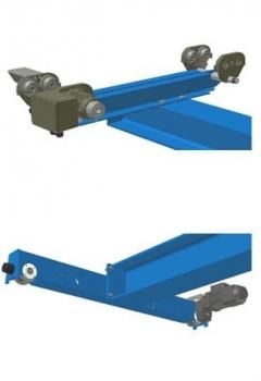 Krano įrangos komponentai