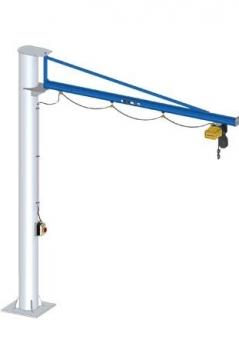 Slewing Pillar Crane GISKB Steel