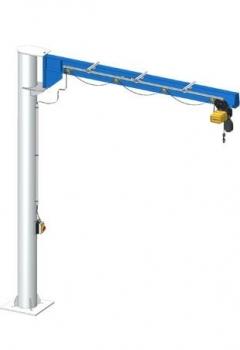 Slewing Pillar Crane IPE Steel Beam