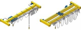 Single And Double Girder Cranes