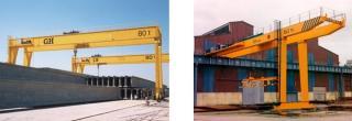 Gantry Cranes And Semi Gantry Cranes