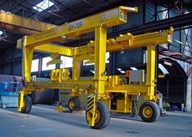 Automative Gantry Cranes On Tires