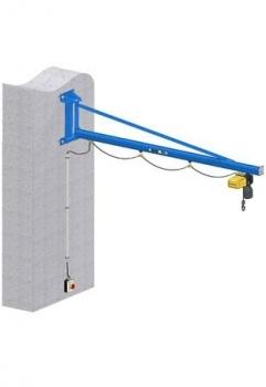 Slewing Wall Crane GISKB Steel