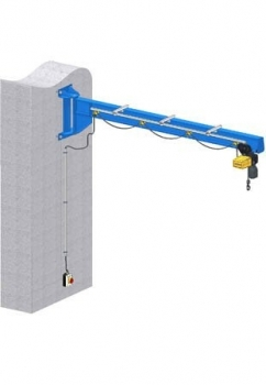 Slewing Wall Crane IPE Steel Beam