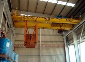 Foundry cranes
