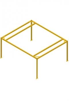 Savaime stovinti struktūra kranams
