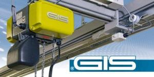 Europos Kranų GIS kėlimo sistemų sprendimai